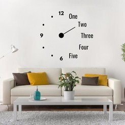 Descargar modelos 3D RELOJ DECORATIVO PARED, LCdesign