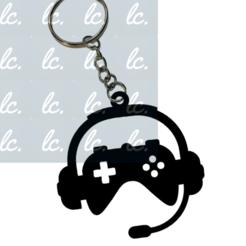 aaheadphones.png Télécharger fichier STL Porte-clés Gamer Casque porte-clés • Plan pour impression 3D, LCdesign