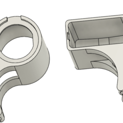 Download 3D print files Tuono V4 USB support, ymora