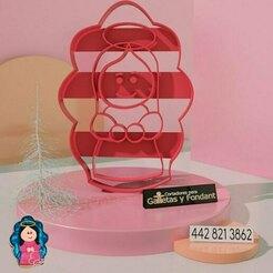 virgen.jpg Télécharger fichier STL Coupeur de la Vierge Marie • Plan pour imprimante 3D, alexxarriaga