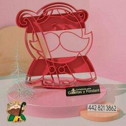 josé.jpg Télécharger fichier STL Joseph Cookie Cutter • Plan imprimable en 3D, alexxarriaga