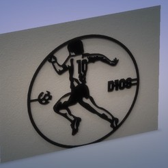 diego.jpg Download STL file Cuadro 2D Maradona • 3D printer template, Spartan_3D