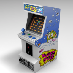 RENDERING 1 OK.png Download STL file Raspberry pi 3B ARCADE CAB CHASE • 3D printable object, lex74