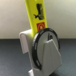 Download 3D printer designs Divot/Marker Holder - Belt Clip, Howe155