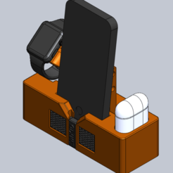 EMKID_Apple_IPhone_IWatch_Airpod_Night_Stand.png Download STL file Apple_Charging_Stand • 3D printing object, Howe155