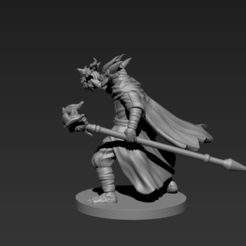 P3.png Download STL file Half-Dragon Warlock • 3D printing model, ELDRITH