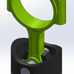 Conrod piston headphone stand assembly.PNG Download STL file Conrod piston headphone stand • 3D printer object, raedzamo