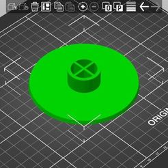 HoverBaseJoined.JPG Download free STL file Hover Stand for Repulsor, Executioner or Impulsor • 3D printing template, Bandicoot9