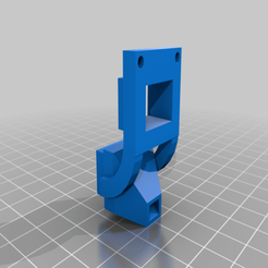 fanDucts.png Download free SCAD file Sapphire Pro - NF-Mellow / Mosquito - BLTouch Mount • 3D printer object, timput