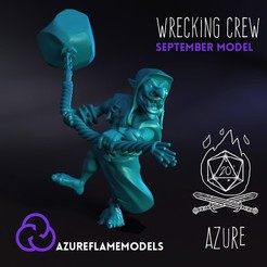WreckCult.jpg Download STL file Goblin Wrecking Crew • Template to 3D print, AzureFlameModels