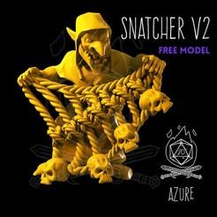 snatcherv2.jpg Download free STL file Goblin Snatcher • Object to 3D print, AzureFlameModels