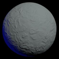 moon 1.png Télécharger fichier 3DS Lune • Design pour impression 3D, bishansagar