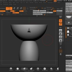 Download 3D printing files Nordic girl's head pot, contactogalm3d
