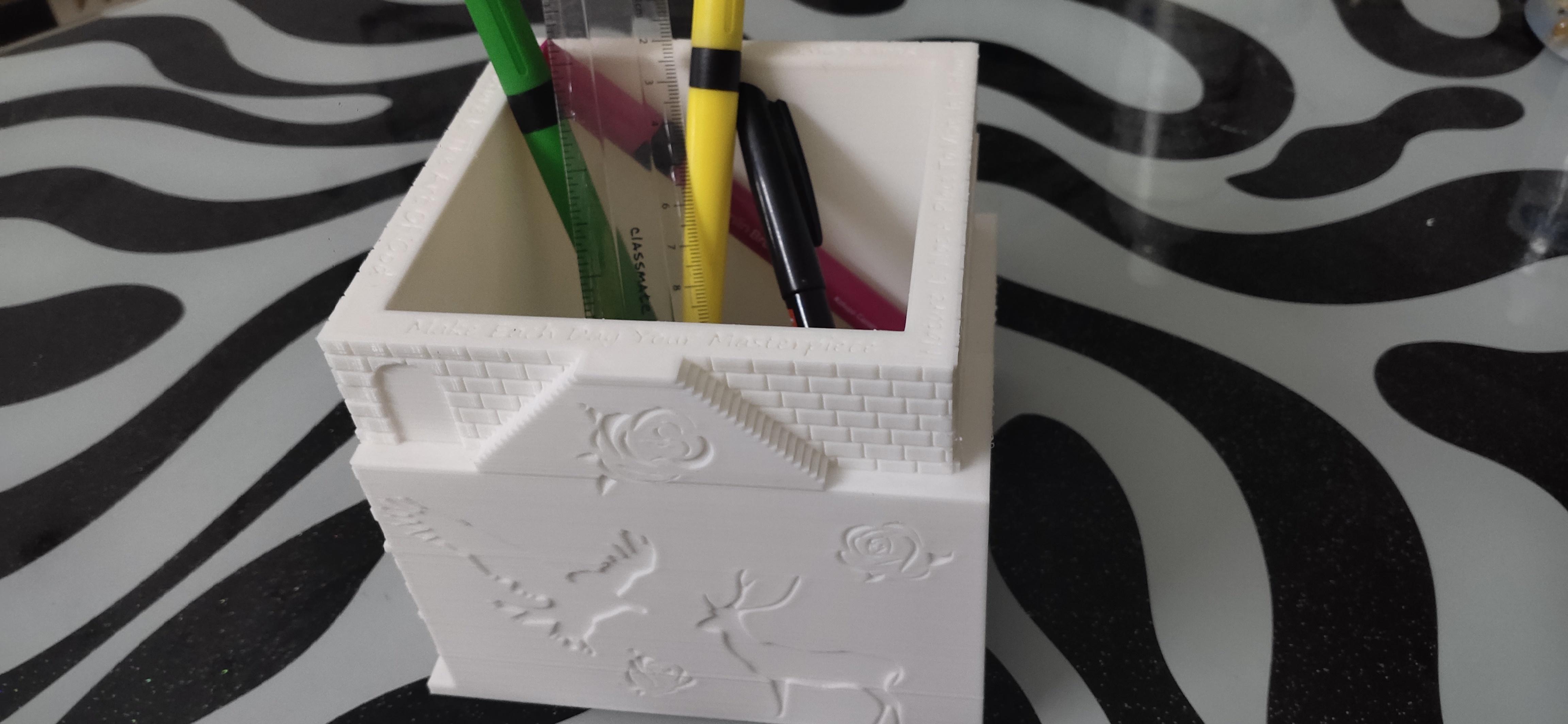 IMG_20200928_160139.jpg Download STL file Plant and desk pot • 3D printer object, FutureDesigns