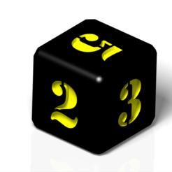 dice 2.png Télécharger fichier 3DS Dés numériques • Plan pour impression 3D, FutureDesigns