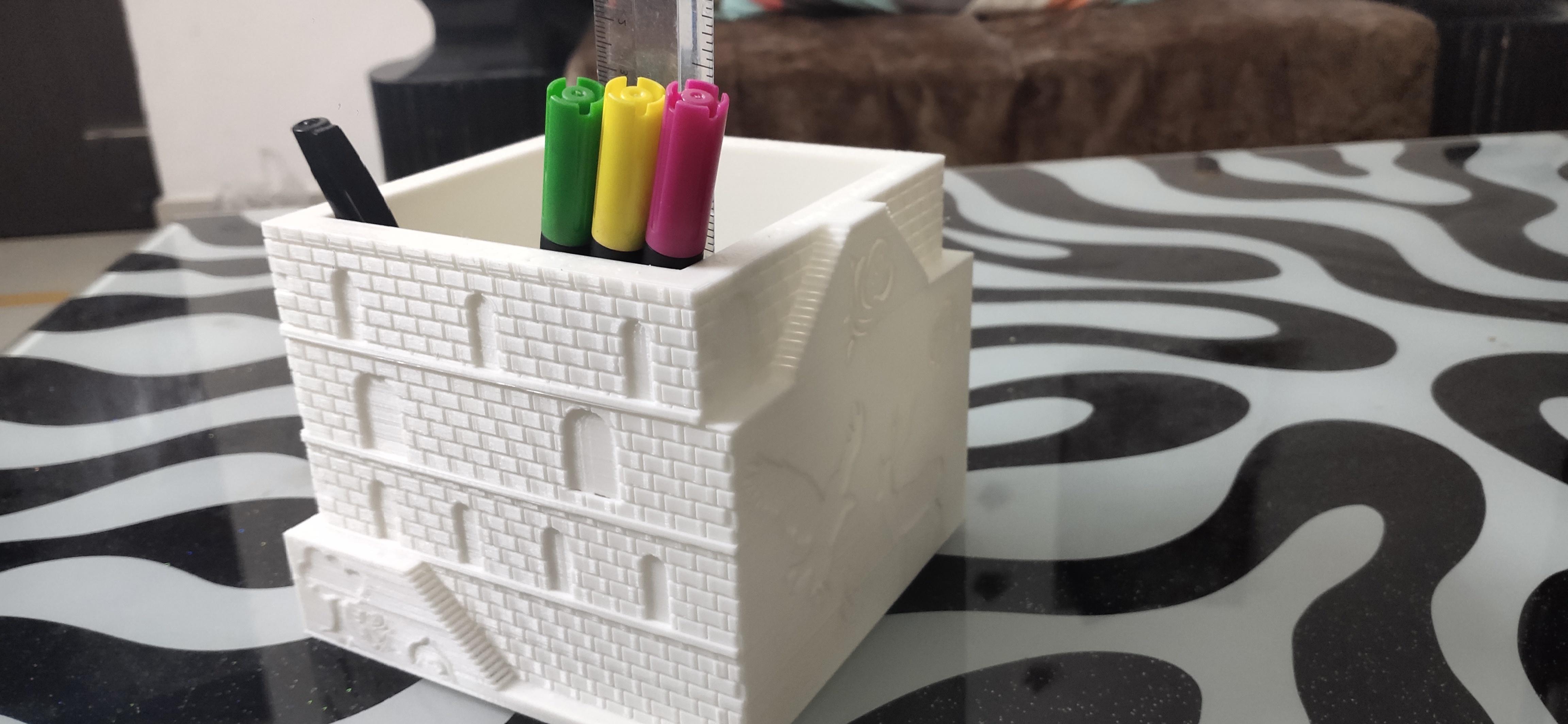 IMG_20200928_160333.jpg Download STL file Plant and desk pot • 3D printer object, FutureDesigns