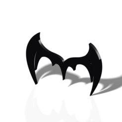 Download 3D printer model Bat logo, FutureDesigns