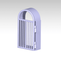 1.png Download STL file open close gate • Design to 3D print, FutureDesigns