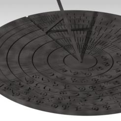 Download 3D printer designs sun dial universal, FutureDesigns
