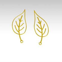 1.png Download STL file 20 beautiful earrings collection • 3D printing model, FutureDesigns