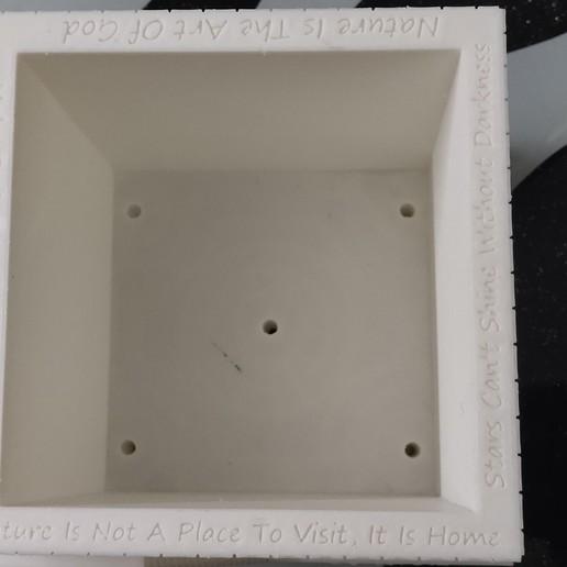 IMG_20200928_160510.jpg Download STL file Plant and desk pot • 3D printer object, FutureDesigns