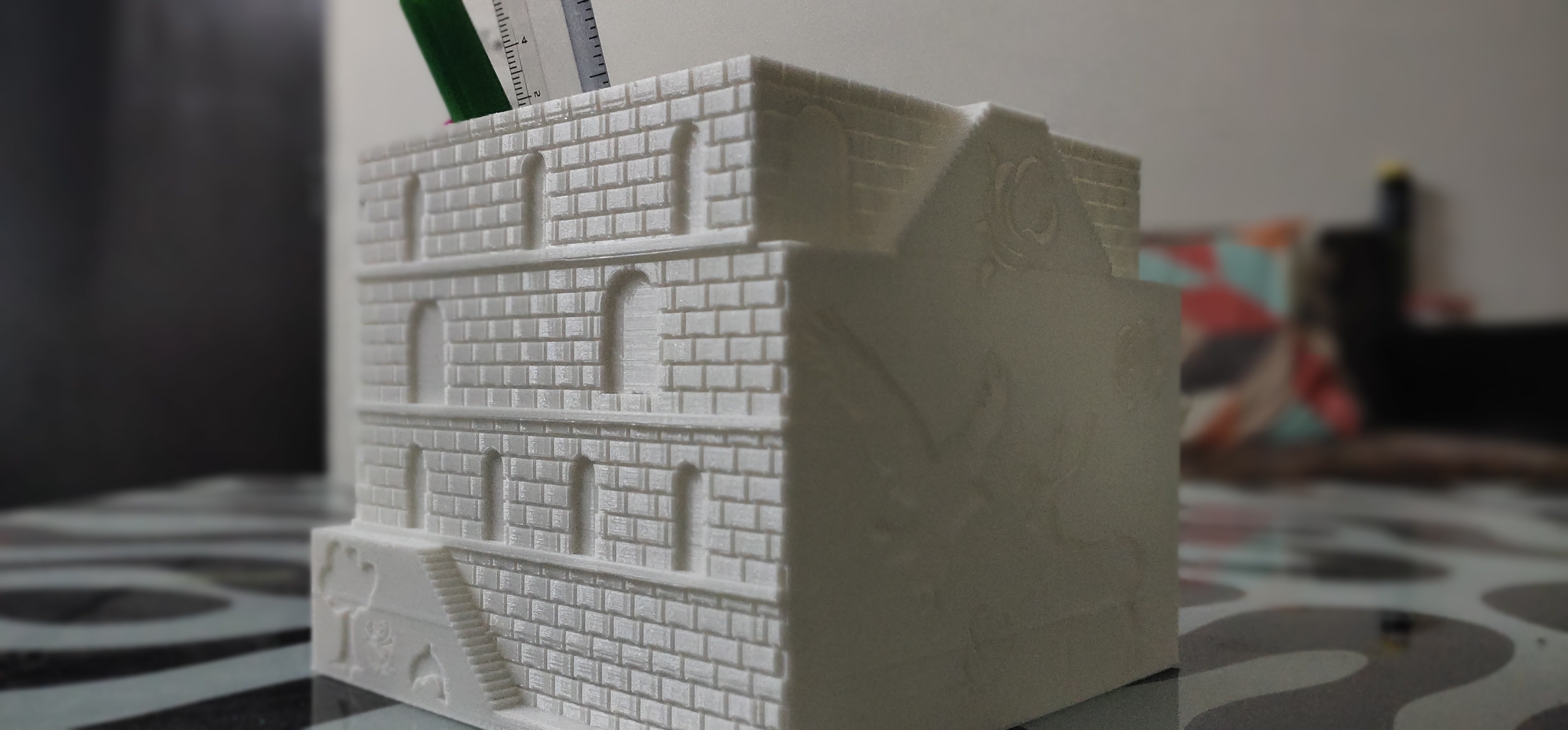 IMG_20200928_155921.jpg Download STL file Plant and desk pot • 3D printer object, FutureDesigns