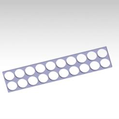 Download STL 18650 battery holder 3 size, FutureDesigns