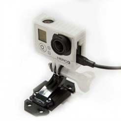 Frame_compact_strong_05-900x900.jpg Télécharger fichier STL gratuit GoPro Compact Frame House (avec fentes pour les connecteurs) • Design pour imprimante 3D, 3DprintTechDesign