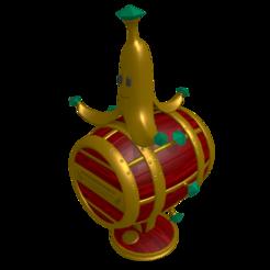 Télécharger fichier STL gratuit Trophée de la banane • Plan pour imprimante 3D, angel2jz