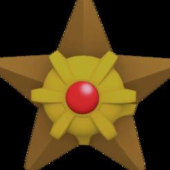 Descargar diseños 3D Staryu pokemon, angel2jz