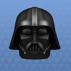 Download free STL file Darth vader head mask • 3D print object, angel2jz
