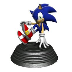 Download free STL file Sonic statue • 3D printing model, angel2jz