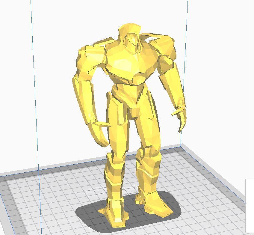 gp dfgdh.JPG Download free STL file PACIFIC RIM - GIPSY DANGER • Design to 3D print, angel2jz