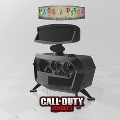 miniatura.jpg Download free STL file Pack a punch call of duty zombies • Template to 3D print, angel2jz