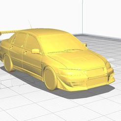 evo 7.JPG Download free STL file Lancer Evo VII • 3D printer template, angel2jz