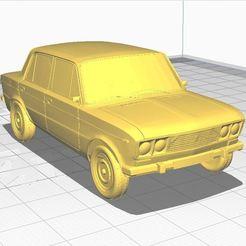 Download free STL file VAZ stl one file • Template to 3D print, angel2jz