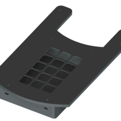 Download 3D printing templates Stream Deck mount Fanatec CSW V2.5 V2, Hupske