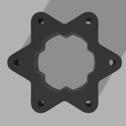 spacer2.png Download STL file 70mm spacer for steering wheel • 3D printing template, Hupske
