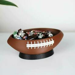 1c-min.jpg Download STL file Football Snackbowl / NFL Superbowl • 3D printable template, NKpolymers