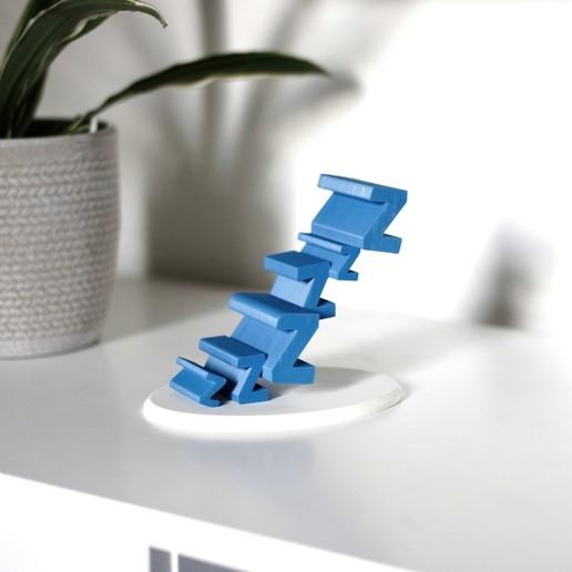 3.JPG Download free STL file Sleepy Phone Stand • 3D printing model, NKpolymers