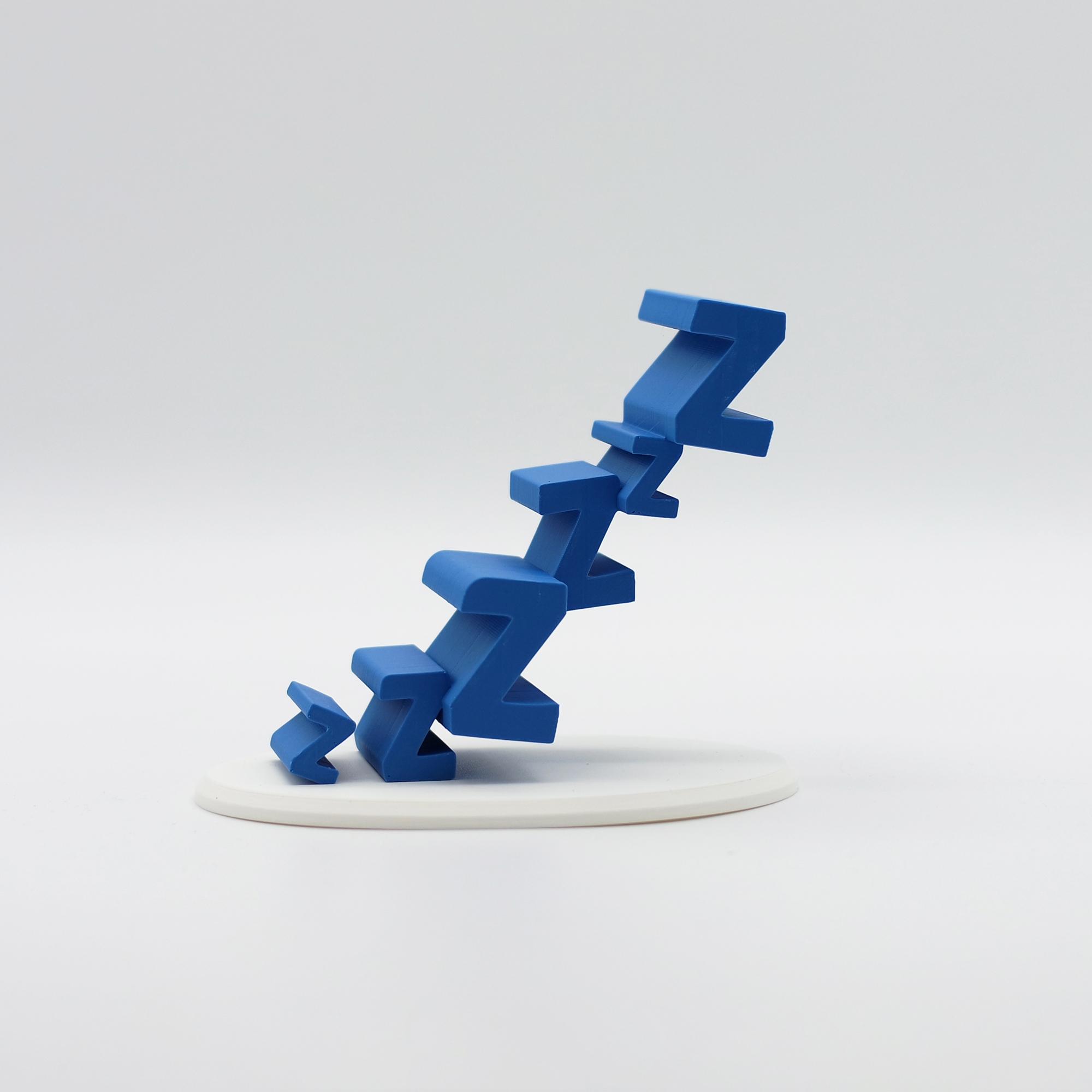 1.jpg Download free STL file Sleepy Phone Stand • 3D printing model, NKpolymers