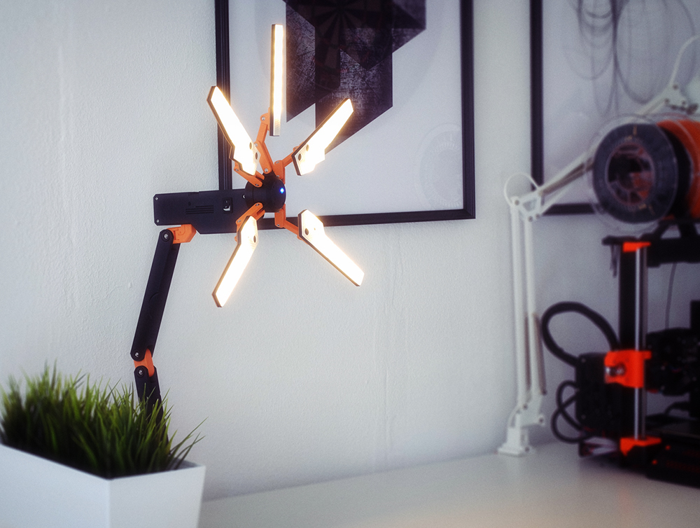 pp44.jpg Download STL file Death Stranding Desk Lamp (or cosplay prop) • Object to 3D print, NKpolymers