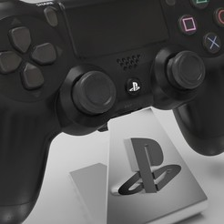 ps1.jpg Download STL file ps4_playstation control carrier • Object to 3D print, skrollz