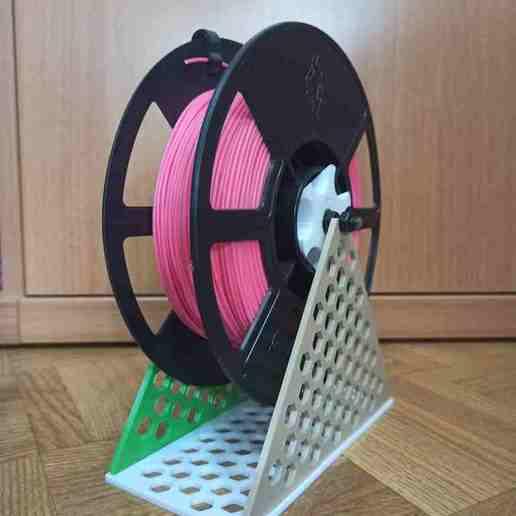 image-2-compressed.jpg Télécharger fichier STL gratuit Soporte rollos filamento / Porte-bobine • Plan à imprimer en 3D, adrihernan107