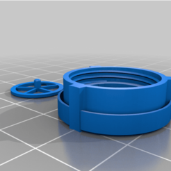Download free 3D print files Customized 3M 3200 Filter with front exhale filter, mykeecee