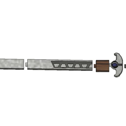 Descargar archivo STL gratis Espada Lexa • Plan para la impresión en 3D, davidedeangelis
