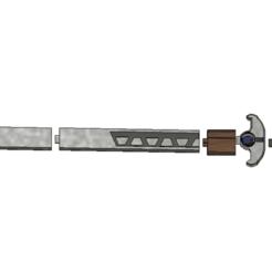 Descargar Modelos 3D para imprimir gratis Espada Lexa, davidedeangelis