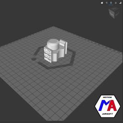 18.png Download STL file airsoft M870 barrel rail • 3D printable design, Motion-airsoft