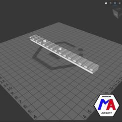 26.png Download STL file rail picatinny handguard M870 airsoft • 3D print design, Motion-airsoft