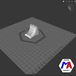 15.png Download STL file handstop M870 magpul cyma airsoft • 3D printer model, Motion-airsoft